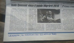 Leggimi, Il Mercatino 22.04.16